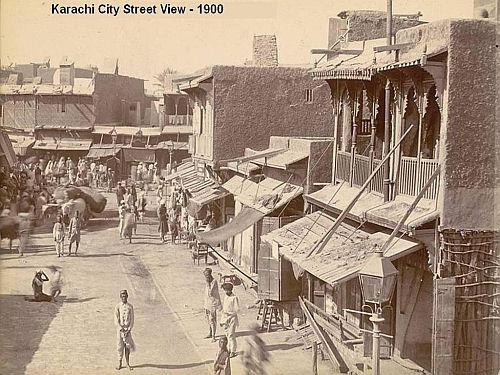 Karachi city, from 1900 to 2013